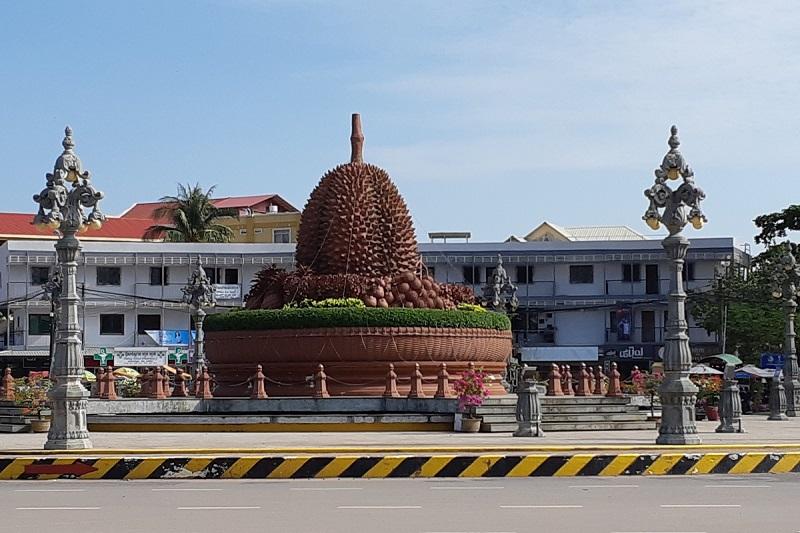 Top 10 bezienswaardigheden Kampot: Doerian rotonde
