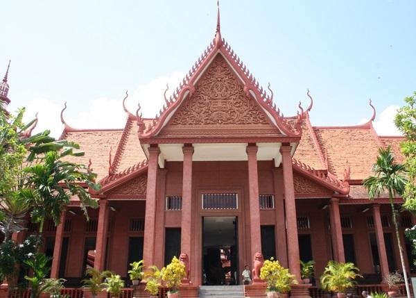 Top 10 bezienswaardigheden Phnom Penh: Nationaal museum