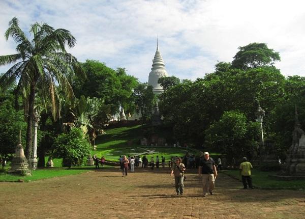 Top 10 bezienswaardigheden Phnom Penh: Wat Phnom