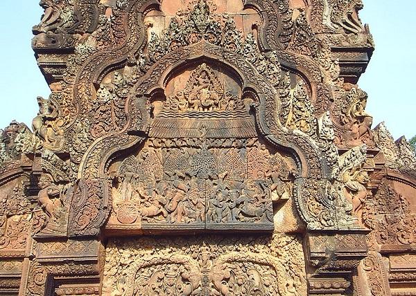 Top 10 bezienswaardigheden Siem Reap: Bantey Srey