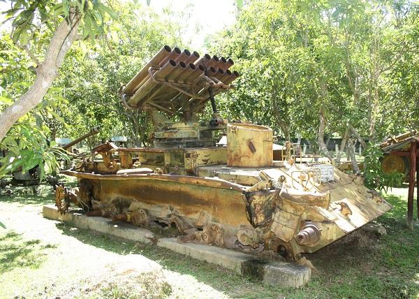 Top 10 bezienswaardigheden Siem Reap: War museum (oorlogsmuseum)