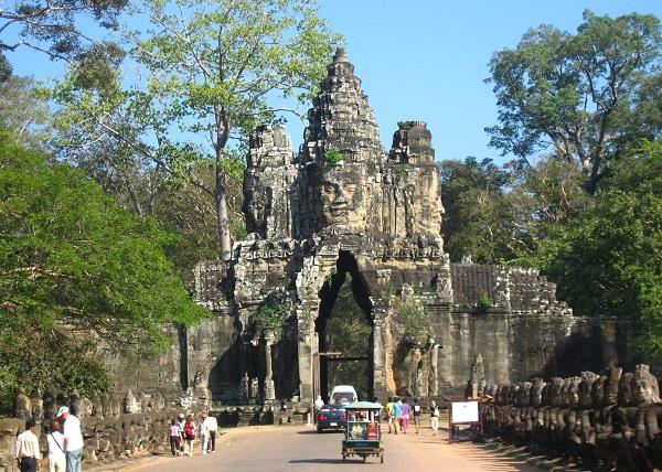 Top 10 bezienswaardigheden Siem Reap: Angkor Thom